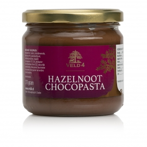 hazelnoot chocopasta Veld 4